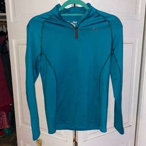 Under Armour cold gear long sleeve too, youth Lg